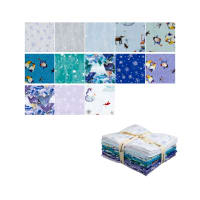 Clothworks Winter Love Fat Quarter 13 Pcs Multi