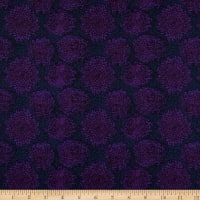 Clothworks Follow The Sun Geo Dark Purple
