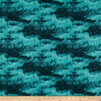 Clothworks Misty Tonal Dark Teal