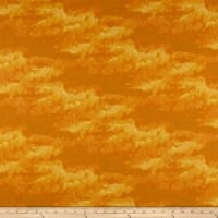 Clothworks Misty Tonal Light Orange