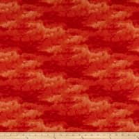 Clothworks Misty Tonal Dark Orange