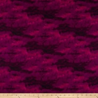 Clothworks Misty Tonal Dark Fuchsia