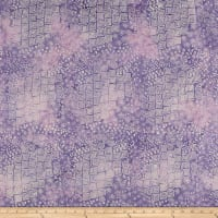 Laurel Burch Batik Menagerie Geo Purple