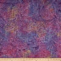 Clothworks Batik Menagerie Geo Multi Color