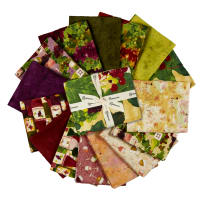 Clothworks Rhone Valley Fat Quarter Pack Multi