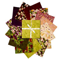 "Clothworks Rhone Valley 10"" Squares 42 Pcs Multi"