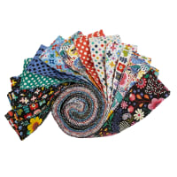 "Clothworks Good Things Will Come 2.5"" Strip Rolls 40 Pcs Multi"