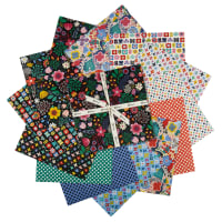"Clothworks Good Things Will Come 10"" Squares 42 Pcs Multi"