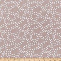 Clothworks Playful Pups Paw Prints Taupe