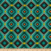 Southwest Argyle Teal