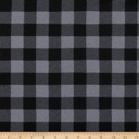 Buffalo Plaid Grey