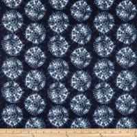 Stof France LeQuilt Shibori Dark Blue