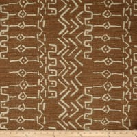 Artistry Mudcloth Yarn-Dyed Jacquard Cognac