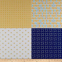 Cozy Fat Quarter Panel Blue