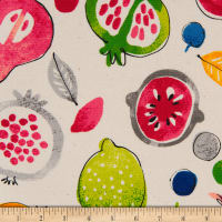 Cosmo Country Table II Canvas Fruit Toss Natural