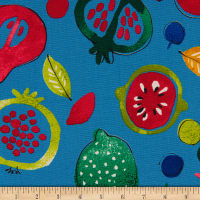 Cosmo Country Table II Canvas Fruit Toss Blue