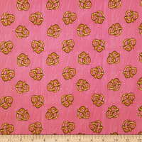 Camelot City Girl Pretzels in Dark Pink