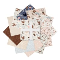 """Camelot Watson in the Woods 10"""" Squares 42 Pcs"""