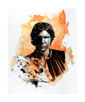 "Star Wars Refresh Han Solo 36"" Panel Orange"