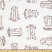 Camelot Wizarding World Harry Potter Houses Tonal in Cream
