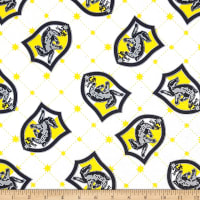 Camelot Wizarding World Hufflepuff House Pride in White