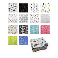 MOD Blocks  Fat Quarter Bundle 14 Pcs.