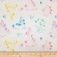 Disney Forever Princess Princess Toile in Multi