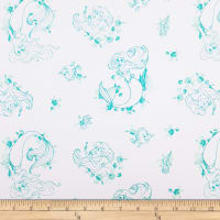 Disney Forever Princess Ariel Toile in Turquoise