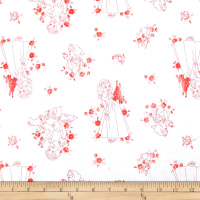 Disney Forever Princess Snow White Toile in Coral