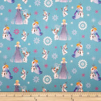 Disney Olaf's Frozen Adventure Winter Wonderland in Teal