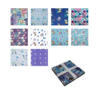 "Disney Olaf's Frozen Adventure 10"" Squares 42 Pcs."