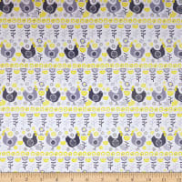 Village Life Hens Grey