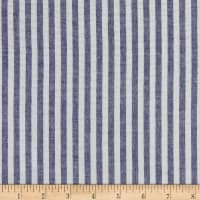 "1/4"" Stretch Seer Sucker Stripe Royal"