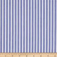 Cotton Tencel Twill Stripe Sky