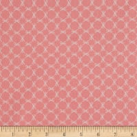 Cotton Poplin Print Peach