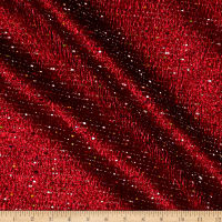 Telio Celia Poly Tweed  Metallic Red