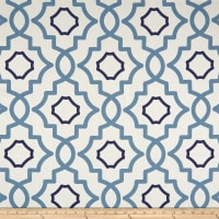 Magnolia Home Fashions Brookside Canvas Navy