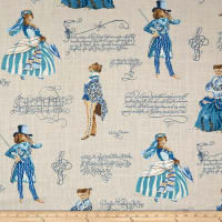 P/Kaufmann Belle of the Ball Linen Persian Blue