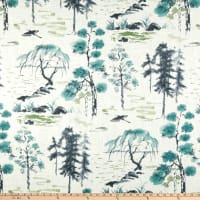 P Kaufmann West Lake Linen Toile Mist