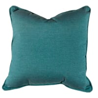 "Sunbrella 15"" x 15"" Pillow With Welt & Dacron Insert Lagoon"