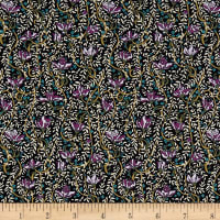 Liberty Fabrics Tana Lawn Fuschia Drop Purple/Multi