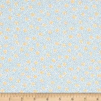 Liberty Fabrics Tana Lawn Speckled Rose Blue