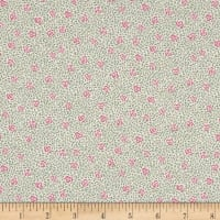 Liberty Fabrics Tana Lawn Speckled Rose Green