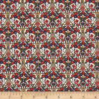 Liberty Fabrics Tana Lawn Morris Butterfly Red