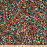 Liberty Fabrics Tana Lawn Little Marquess Black/Multi