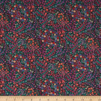 Liberty Fabrics Tana Lawn Little Marquess Navy/Multi