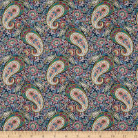 Liberty Fabrics Tana Lawn Lee Manor Green/Multi