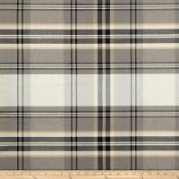 P Kaufmann Kendal Plaid Peppercorn
