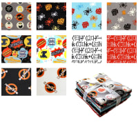 The Big Bang Theory Fat Quarter Bundle 17 Pcs Multi