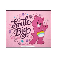 "Care Bears Sparkle & Shine Smile Big 36"" Panel Pink"